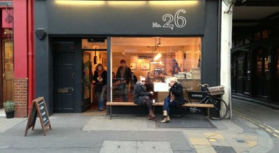 Photo of Coffee Shop TAP Coffee at 26 Rathbone Pl, Fitzrovia W1T 1JD, United Kingdom