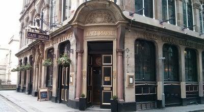 Photo of Bar Cafe Royal at 19 West Register Street, Edinburgh EH2 2AA, United Kingdom