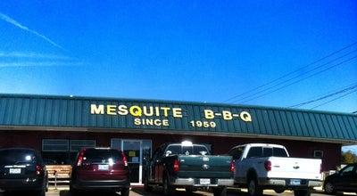 Photo of American Restaurant Mesquite BBQ at 145 E Davis St, Mesquite, TX 75149, United States