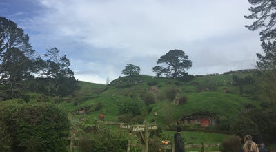 Photo of Theme Park Ride / Attraction hobbiton movie set at Matamata, New Zealand