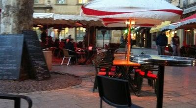 Photo of Cafe Bar de l'Horloge at Place Richelme, Aix en Provence 13100, France