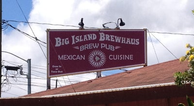 Photo of Mexican Restaurant Big Island Brewhaus at 64-1066 Mamalahoa Hwy, Waimea, HI 96743, United States
