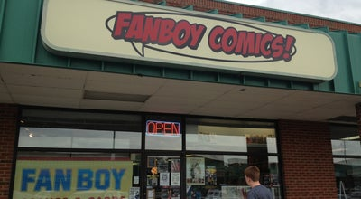 Photo of Bookstore Fanboy Comics at 419 S College Rd, Wilmington, NC 28403, United States