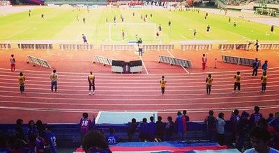 Photo of Athletics and Sports Ajinomoto Stadium at 西町376-3, Chofu 182-0032, Japan
