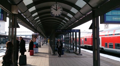 Photo of Train Station Ulm Hauptbahnhof at Bahnhofplatz 1, Ulm 89073, Germany