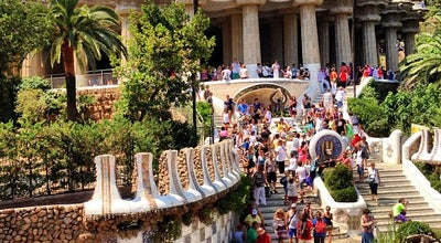 Photo of Monument / Landmark Park Guell at Carrer Olot 5, Barcelona 08024, Spain