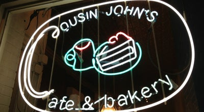 Photo of American Restaurant Cousin John's Cafe & Bakery at 70 7th Ave, Brooklyn, NY 11217, United States