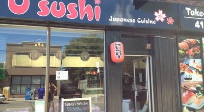 Photo of Sushi Restaurant O Sushi at 6 Coxwell, Toronto, ON, Canada