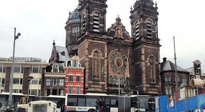 Photo of Church Basiliek van de Heilige Nicolaas (Nicolaaskerk) at Prins Hendrikkade 73, Amsterdam 1012 AD, Netherlands