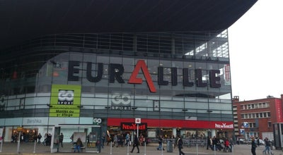 Photo of Tourist Attraction Euralille Mall at 100 Centre Commercial, Lille 59777, France