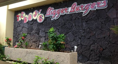 Photo of American Restaurant Teddy's Bigger Burgers at 134 Kapahulu Ave, Honolulu, HI 96815, United States