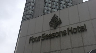 Photo of Hotel Four Seasons Hotel Vancouver at 791 W. Georgia St., Vancouver, BC V6C 2T4, Canada