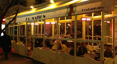 Photo of French Restaurant La Maison at Place St Ferdinand, Paris 75017, France