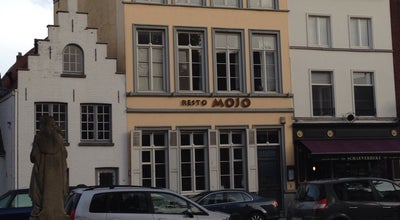 Photo of French Restaurant RESTO MOJO at Schaarstraat 4, Bruges 8000, Belgium