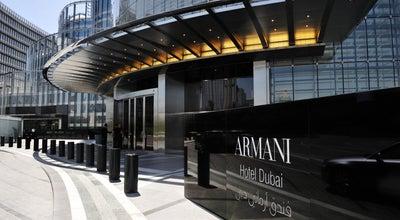 Photo of Hotel Armani Hotel Dubai at Dubai, United Arab Emirates