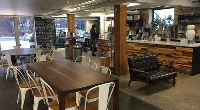 Photo of Coffee Shop Creeds Coffee Bar at 390 Dupont St, Toronto, On M5R 1V9, Canada