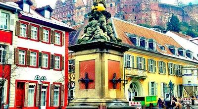 Photo of Monument / Landmark Kornmarkt at Heidelberg, Germany