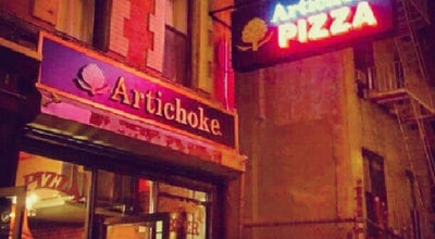 Photo of Pizza Place Artichoke at 111 Macdougal St, New York, NY 10012, United States