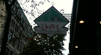 Photo of American Restaurant Buffet de l'Antiquaire at 95 Rue Saint Paul, Quebec City G1K 3V8, Canada
