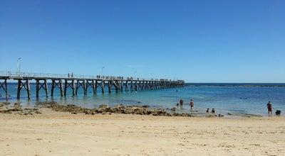 Photo of Beach Port Noarlunga Jetty at Australia