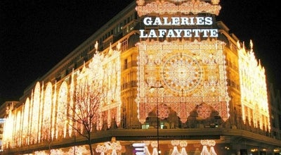 Photo of Furniture / Home Store Galeries Lafayette Maison at 35 Boulevard Haussmann, Paris 75009, France