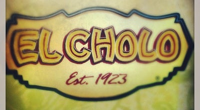 Photo of Mexican Restaurant El Cholo at 1037 S Flower St, Los Angeles, CA 90015, United States