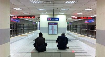 Photo of Light Rail RapidKL Dang Wangi (KJ12) LRT Station at Jalan Ampang, Kuala Lumpur 50300, Malaysia