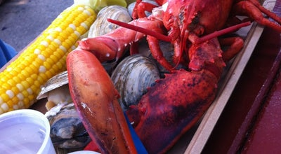 Photo of American Restaurant Harraseeket Lunch and Lobster Company at Main St Town Lndg Town Landing, South Freeport, ME 04078, United States