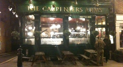 Photo of English Restaurant The Carpenter's Arms at 12 Seymour Place, London W1H 7NE, United Kingdom