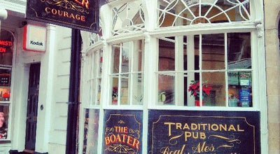 Photo of English Restaurant The Boater at 9 Argyle Street, Bath BA2 4BQ, United Kingdom