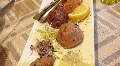 Photo of Seafood Restaurant L'Antiga Taverna at Via Salago 24, Bedizzole, Italy