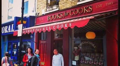 Photo of English Restaurant Books for Cooks at 4 Blenheim Crescent, London W11 1NN, United Kingdom