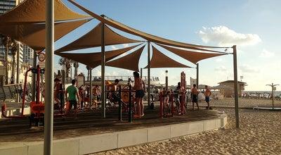 Photo of Middle Eastern Restaurant LaLa Land Resto Beach at Herbert Samuel St, Tel Aviv, Israel