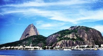 Photo of Beach Enseada de Botafogo at Pr. De Botafogo, Rio de Janeiro, Brazil