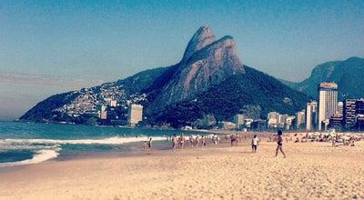 Photo of Beach Praia de Ipanema at Av. Vieira Souto, Rio de Janeiro, RJ, Brazil