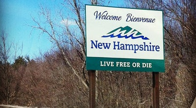Photo of Monument / Landmark Welcome To New Hampshire Sign at Salem, NH 03079, United States