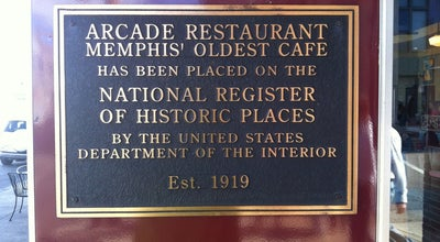 Photo of American Restaurant Arcade Restaurant at 540 S Main St, Memphis, TN 38103, United States