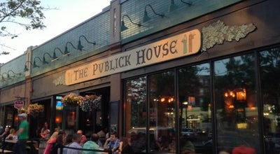 Photo of American Restaurant The Publick House at 1648 Beacon St, Brookline, MA 02445, United States