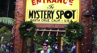 Photo of Tourist Attraction Mystery Spot at 465 Mystery Spot Road Off Branciforte Dr., Santa Cruz, CA 95065, United States