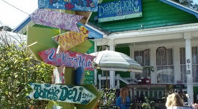 Photo of Cafe Dandelion Communitea Café at 618 N Thornton Ave, Orlando, FL 32803, United States