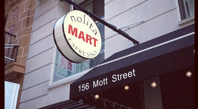 Photo of Cafe Nolita Mart at 156 Mott St, New York, NY 10013, United States