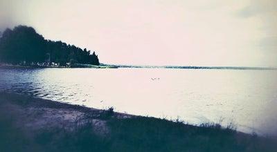 Photo of Lake Lielais Stropu ezers at Stropu Iela 28, Daugavpils municipality 5417, Latvia