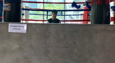 Photo of Boxing Gym Fight Factory Manila at 32nd Street, Taguig, Philippines