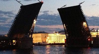 Photo of Bridge Дворцовый мост at Дворцовый М., Санкт-Петербург, Russia