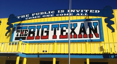 Photo of Steakhouse The Big Texan Steak Ranch at 7701 Interstate 40 Access Rd, Amarillo, TX 79118, United States