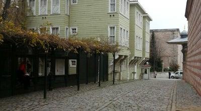 Photo of Historic Site Soğukçeşme Sokağı at Sultanahmet, İstanbul, Turkey