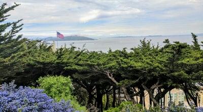 Photo of Historic Site Telegraph Hill at Lombard Street At Kearny Street, San Francisco, CA 94133, United States