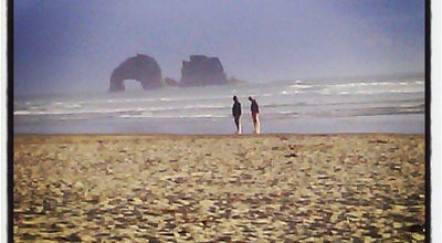 Photo of Beach Rockaway Beach at Rockaway Beach, OR 97136, United States