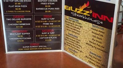 Photo of American Restaurant Buzz Inn Steakhouse at 1112 N Wenatchee Ave, Wenatchee, WA 98801, United States