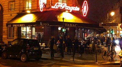 Photo of French Restaurant Le Progres The Bohemians Canteen at 1 Rue De Bretagne, Paris 75003, France